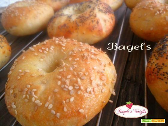 Bagels  #ricette #food #recipes