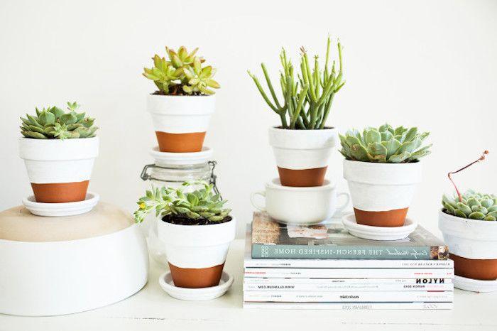 les 25 meilleures id es de la cat gorie pots de fleurs d cor s sur pinterest pots de fleurs. Black Bedroom Furniture Sets. Home Design Ideas
