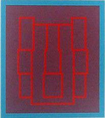 Portraits (Series B), II by ROBYN DENNY - Gillian Jason Modern & Contemporary Art
