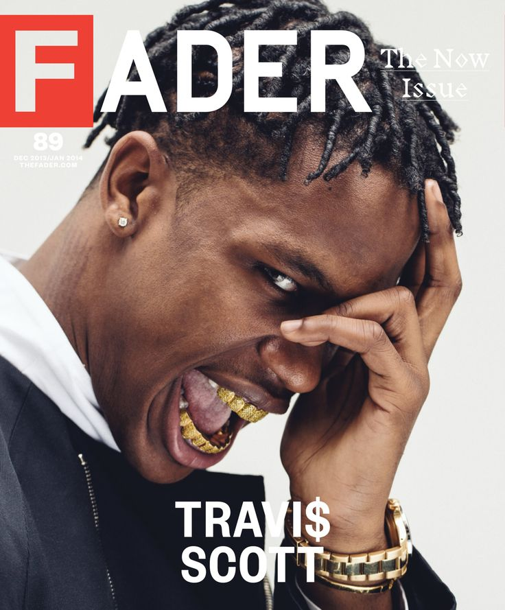 Travi$ Scott: No Fear FADER cover