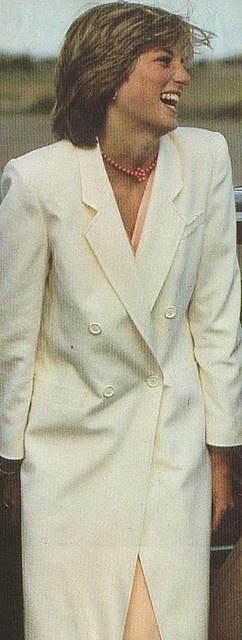 Princess Diana & Prince Charles on their honeymoon in Scotland, 1981.