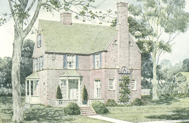 1000 images about house plans on pinterest french for Cottage house plans with porte cochere