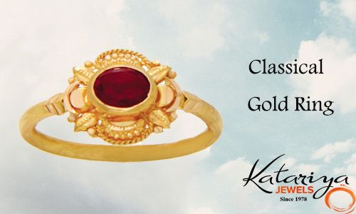 Awesome Gold Ring in 22K  Buy Now :http://buff.ly/1YNtZfi COD Option Available With Free Shipping