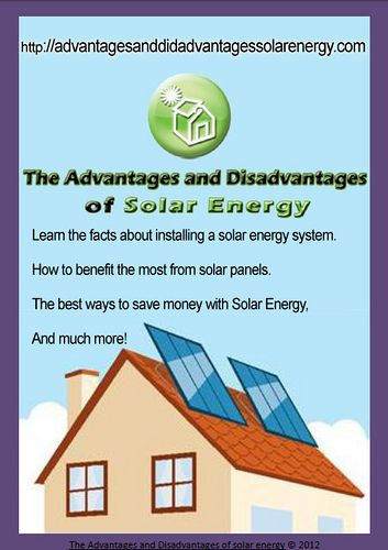 14 Best Images About Solar Energy Pros And Cons On