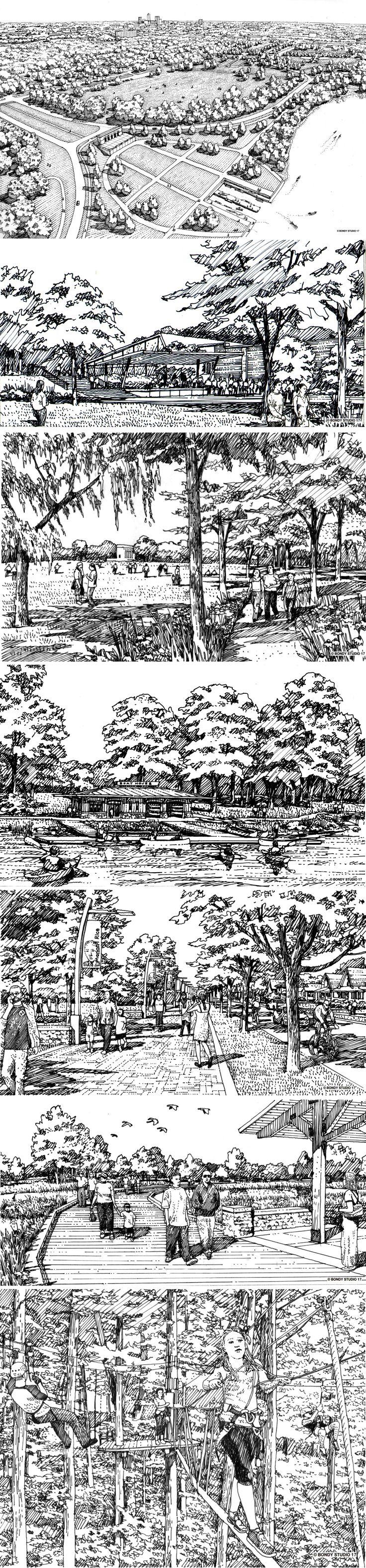 Ratio indianapolis riverside park urband design - Charrette dessin ...