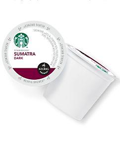 Starbucks Sumatra Coffee K-Cup Pod