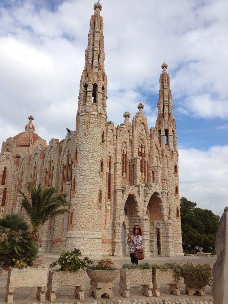 Santuario Santa Magdalena: Small but beautiful church on the outskirts of Novelda, Alicante Region, Spain.