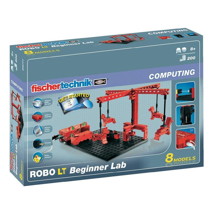 Конструктор FischerTechnik, ROBO LT Начална лаборатория, деца над 8 г. | Хоби Арт