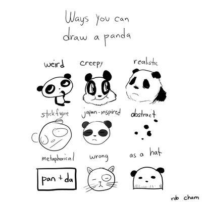 panda! - our school mascot