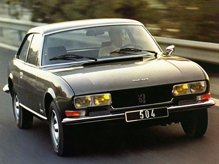 1974–84 Peugeot 504 Coupe by Pininfarina
