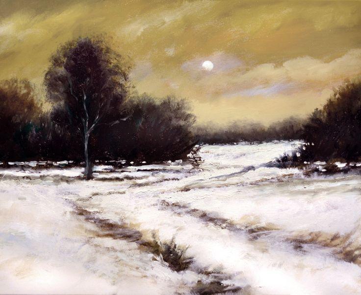 Tonal Impressionism Landscapes By Stuart Davies Stuart