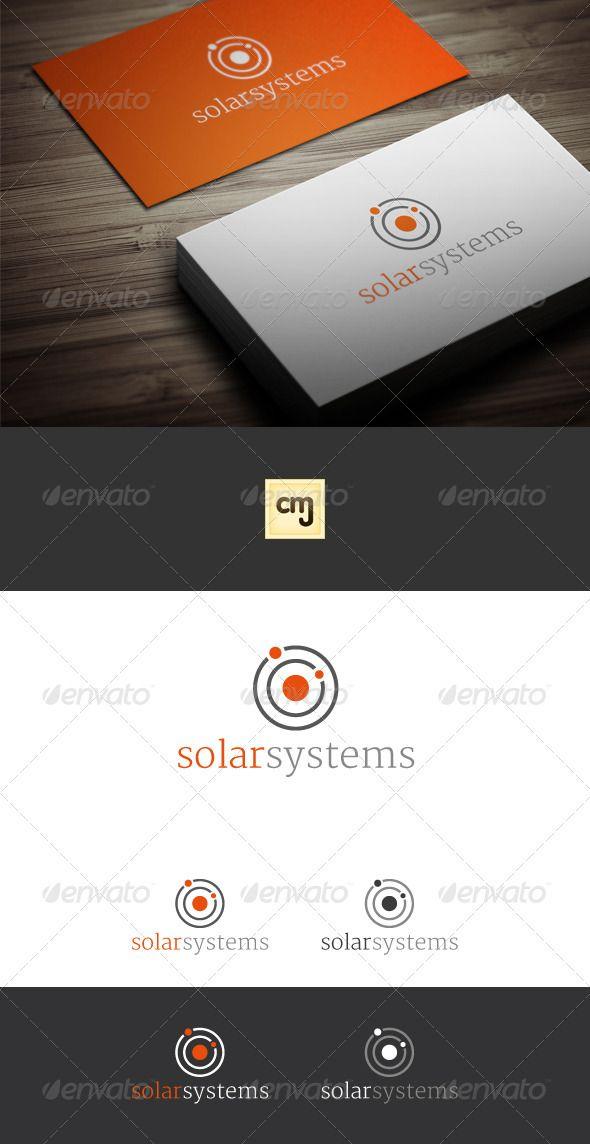 Solar System Logo Template - Symbols Logo Templates