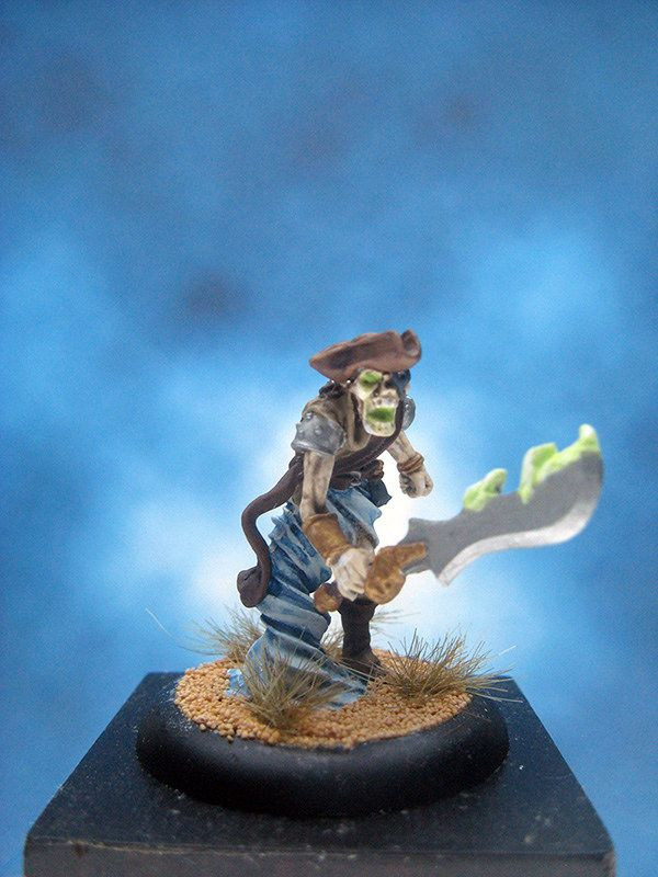 https://flic.kr/p/Ubk5QG | Painted Privateer Press miniature Warmachine Ghost Raider.