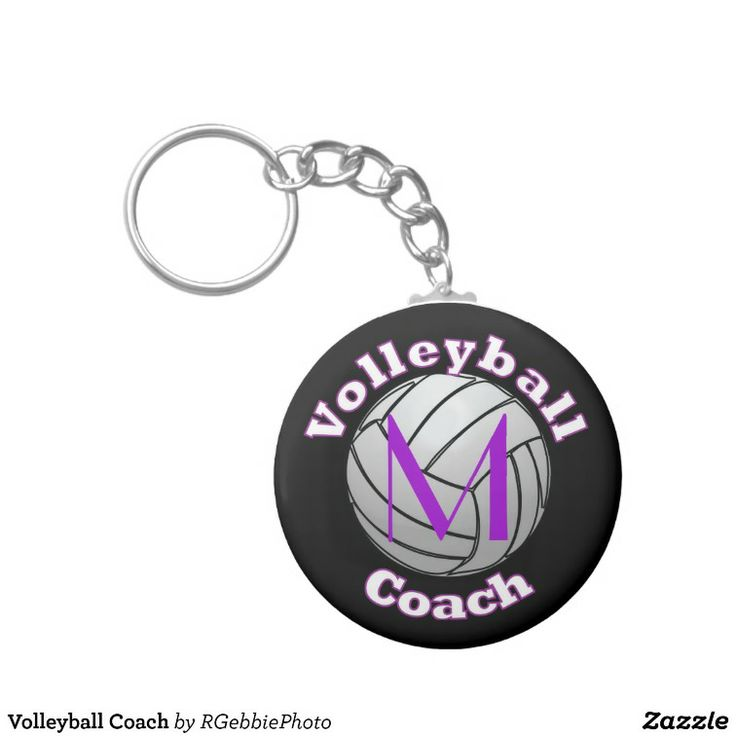 67 best volleyball coach gift ideas images on pinterest softball volleyball coach key chain 440 illustrated volleyball in white white ball with strong black lines negle Choice Image
