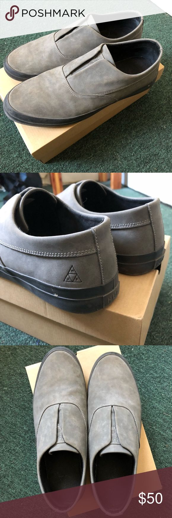 HUF Dylan Slip On HUF Dylan Slip On - excellent condition, come with box, discontinued color. HUF Shoes
