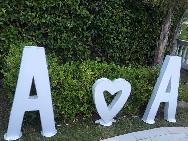 Letters, wedding day, wedding decors, wedding details, Cilento coast, Sposa Mediterranea, Olga studio