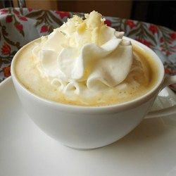 """Abbey's White Chocolate Latte 