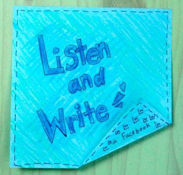 Listen-and-Write Logo