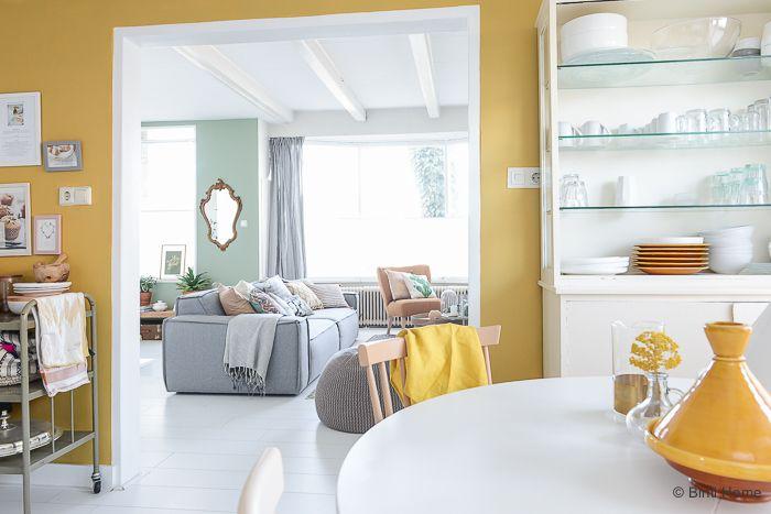 Yay or nay: Geel op de muur - Alles om van je huis je Thuis te maken | HomeDeco.nl