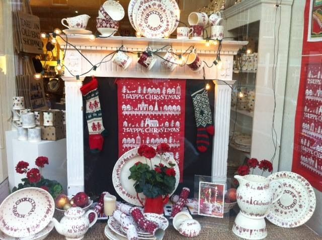Emma Bridgewater Christmas Town 2013 Edinburgh Shop Window ...