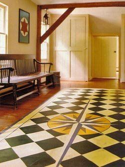 Painted Floor Designs 179 best painted floors images on pinterest | home, live and