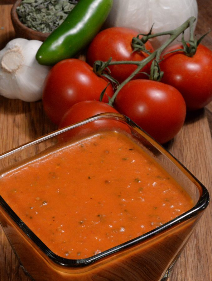 El Salvador salsa roja served all over the country to accompany pupusa. Get the recipe and learn about the culture at http://www.internationalcuisine.com it's free!