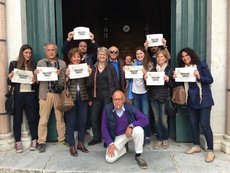#InvasioniDigitali #SanFrancesco #Lucca #invasionecompiuta