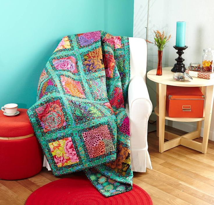 Jewel Frame Quilt Kit Cas Rowan And Quilt