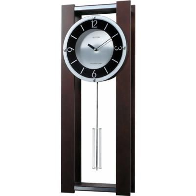 Modern Pendulum Wall Clock In Rich Espresso Plays 18 Melos Free Shipping At Olivetree Home For Only 239 95 Clocks And