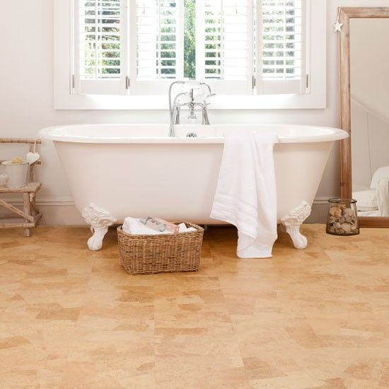 Genial Amber Cork Flooring From Granorte | Bathroom Flooring | PHOTO GALLERY |  Ideal Home | Housetohome