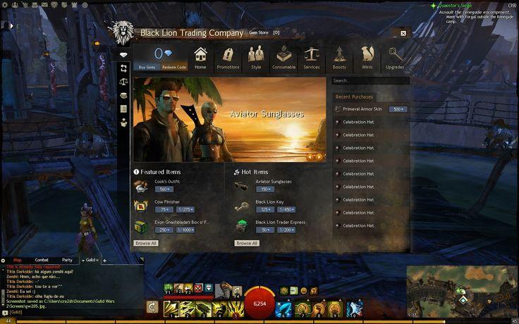 Guild Wars 2 Tabs