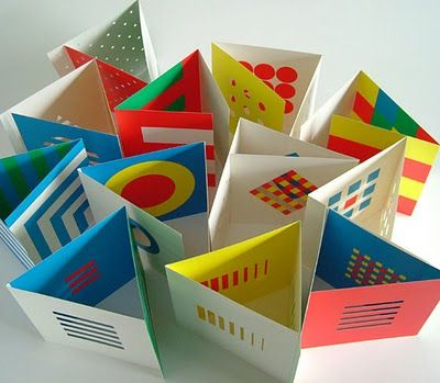 Little Eyes series of books by Katsumi Komagata. The first books were designed for his infant daughter. Eventually the series included books for the blind and visually impaired. Fascinating artist and visionary.