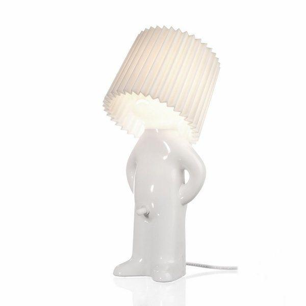 Lampje - Mr. P Shy man Wit - Propaganda