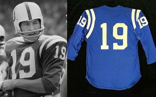 huge discount 64123 9d714 Johnny Unitas jersey (circa 1967).   Baltimore Colts (1958 ...
