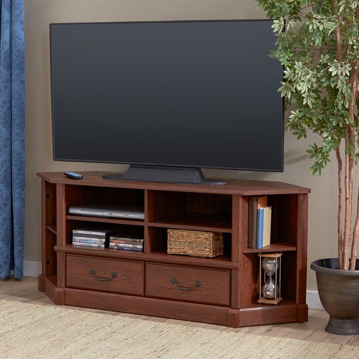 Corner Entertainment Credenza TV Stand