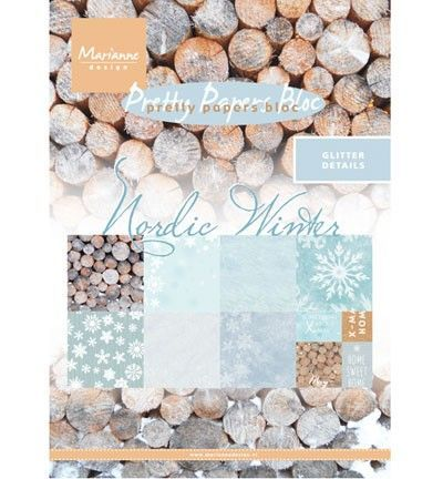 Marianne Design - Nordic winter, A5 - 8 ks