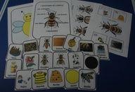 Les abeilles : accessoires pour activités préscolaires - Les éditions Boîte à Surprises