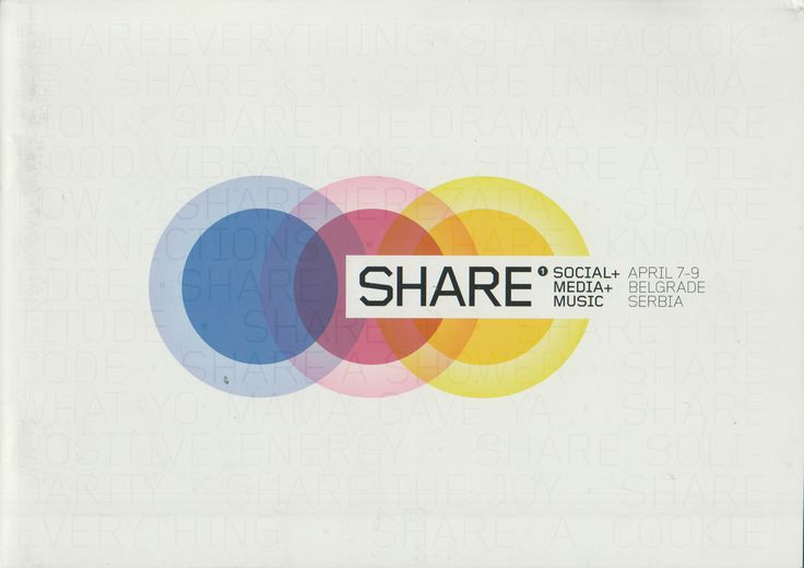 Neural [Archive] SHARE - Social, Media, Music - April 7-9 Belgrade Serbia Share Conference http://archive.neural.it/init/default/show/2488