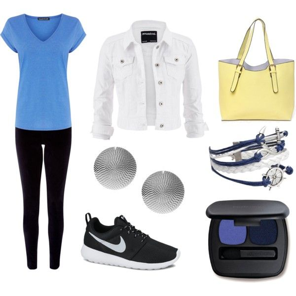 wiosna sport by innooka on Polyvore featuring moda, Warehouse, maurices, Monsoon, NIKE, Snö Of Sweden and Bare Escentuals