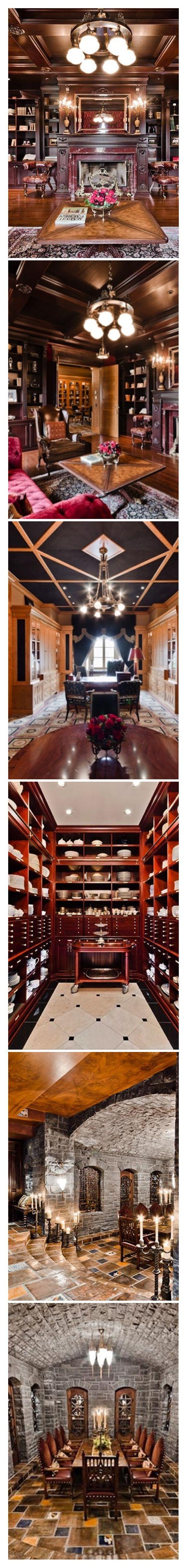 Celine Dion's Mansion for sale - Collage by #Luxurydotcom  http://designgallerist.com/blog/