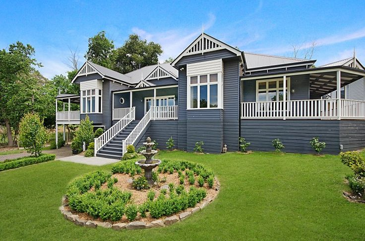 The Exterior I have chosen (I want to paint the house Navy - so this is a similar tone).