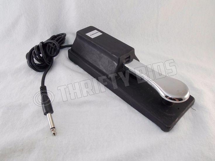 Genuine Kurzweil Damper Sustain Pedal Foot Switch for Electric Piano Keyboard  #Kurzweil