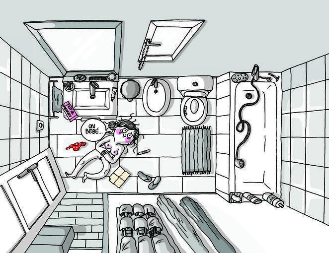 Páginas de 'La Volátil: mamma mia!, de Agustina Guerrero