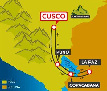 CUSCO - PUNO - COPACABANA - LA PAZ - COPACABANA - CUSCO