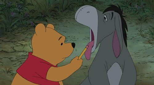 cute disney winnie the pooh sick eeyore Honey