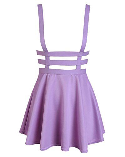 Pleated Short Braces Skirt