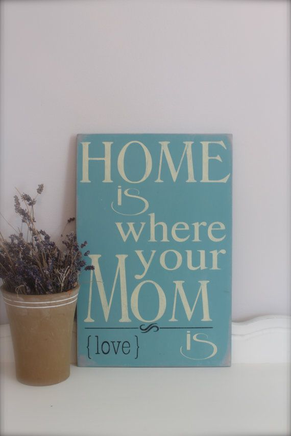 GEAR UP FOR MOTHER'S DAY! Mother's Day Quote, Wall Art, Custom Wood Sign, Sign by InMind4U