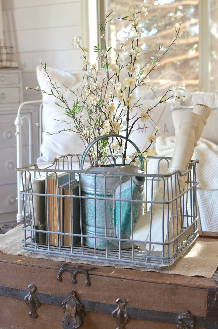 Amazing Vintage Decor Part - 12: How To Get Organized With Vintage Decor