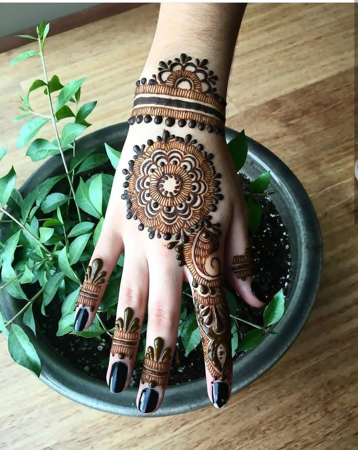 Beautiful Mehndi Desing