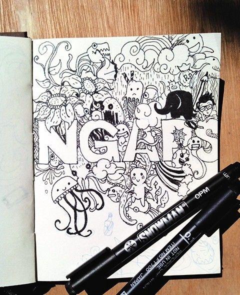 "Doodle ""ngaps"""
